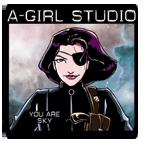 A-Girl Studio Logo